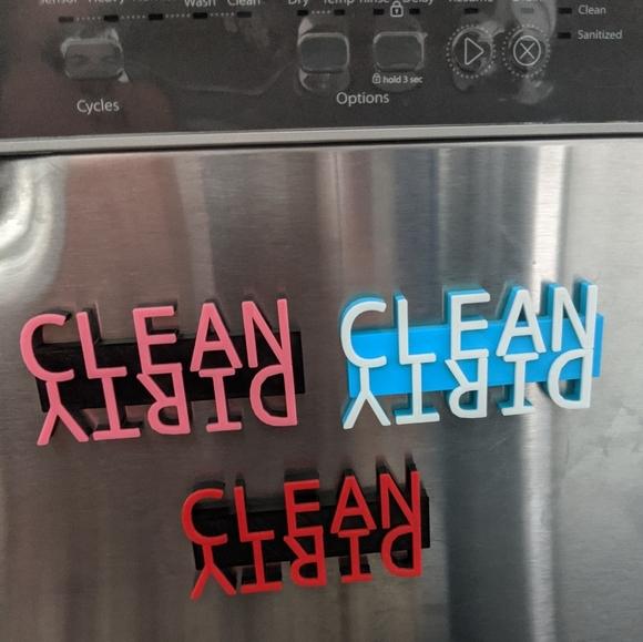 S/&P 1. HANDMADE Kitchen Refrigerator Magnet